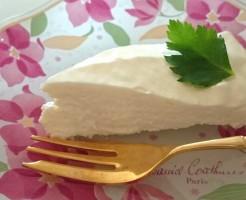 リリーのライダーズカフェ レアチーズケーキ