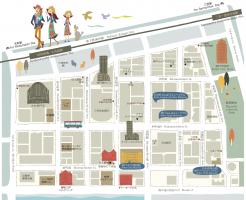 神戸旧居留地マップ