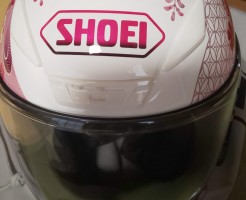 リリーのSHOEI ヘルメット